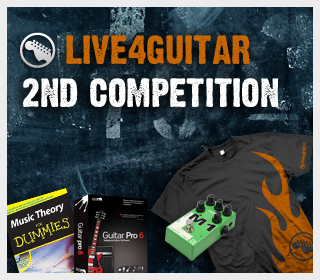 2nd Live4guitar competition - 3 days left