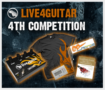 4th Live4guitar competition - Closing tonight