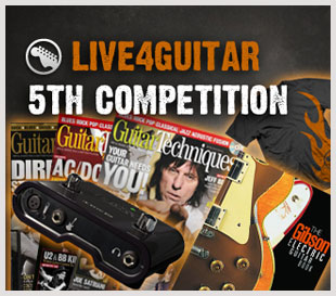 5th Live4guitar competition - 1 day left