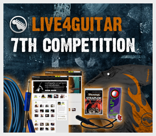7th Live4guitar competition - 2 days left