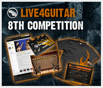 8th Live4guitar competition - 1 hour left