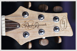 The making of Damjan Pejcinoski's custom guitar