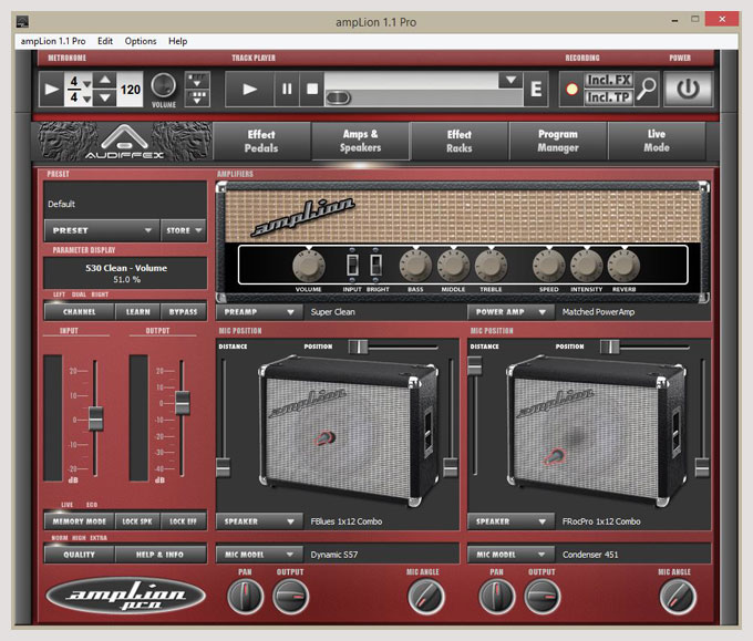 amplion pro and gk amplification 2 pro live4guitar online guitar community. Black Bedroom Furniture Sets. Home Design Ideas