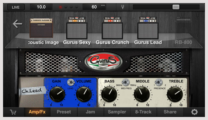jamup xt 3.5.0 - Gurus Amps Expansion pack