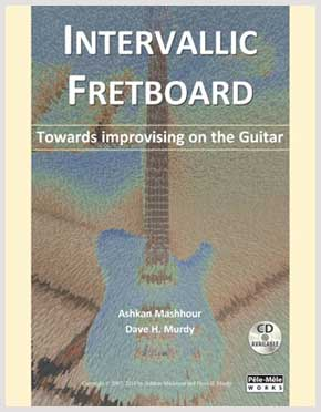 Book review: Intervallic Fretboard - Towards Improvising on the Guitar