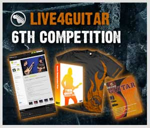6th Live4guitar competition