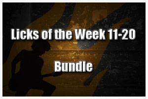 Download all Licks of the Week 11-20 for Free