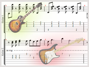 Writing Guitar Harmonies - part 4