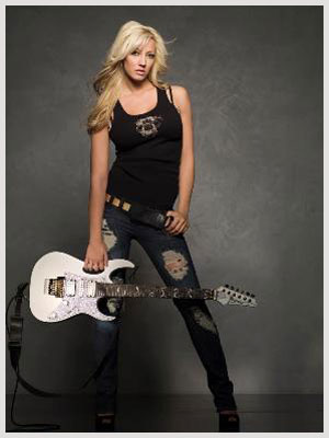 Interview with Nita Strauss - Guitarist of Iron Maidens and Consume The Fire