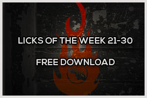 Download Licks of the Week 21-30 for Free