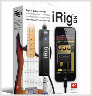 iRig HD and Amplitube for iPad