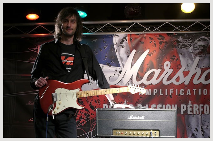 Martin Goulding with Fender and Marshall
