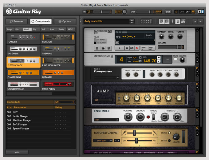 Native instruments guitar rig v2 2 1 vst dx rtas amplify