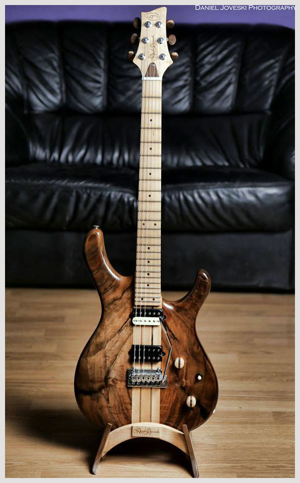 GS Handcraft - Damjan Pejcinoski - Custom Guitar