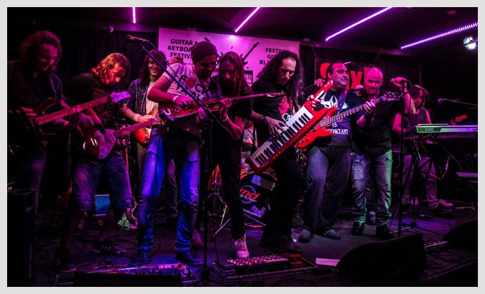 Jam - Rocking in the free world - Klavitara Zagreb Festival 2014