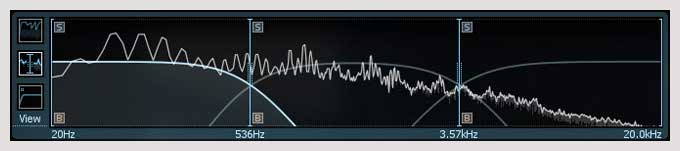 iZotope Alloy 2 Multi-band Mode